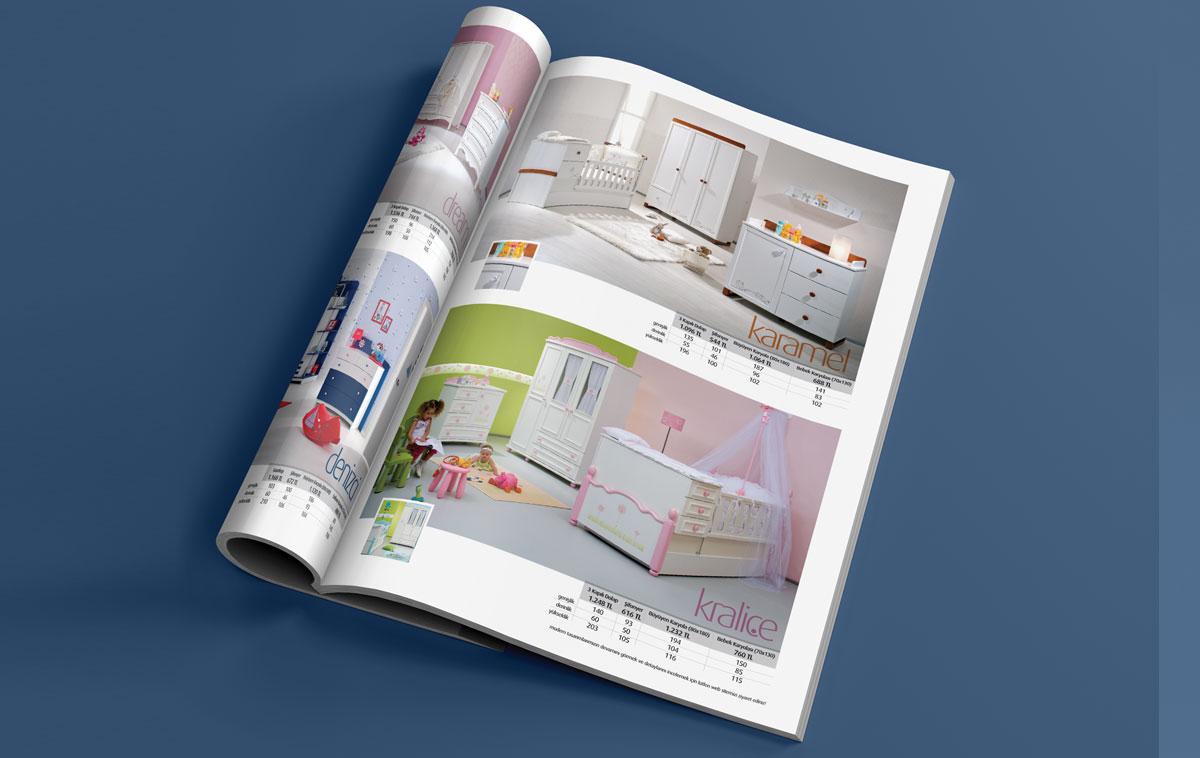 Ankara Adalı Katalog Tasarımı