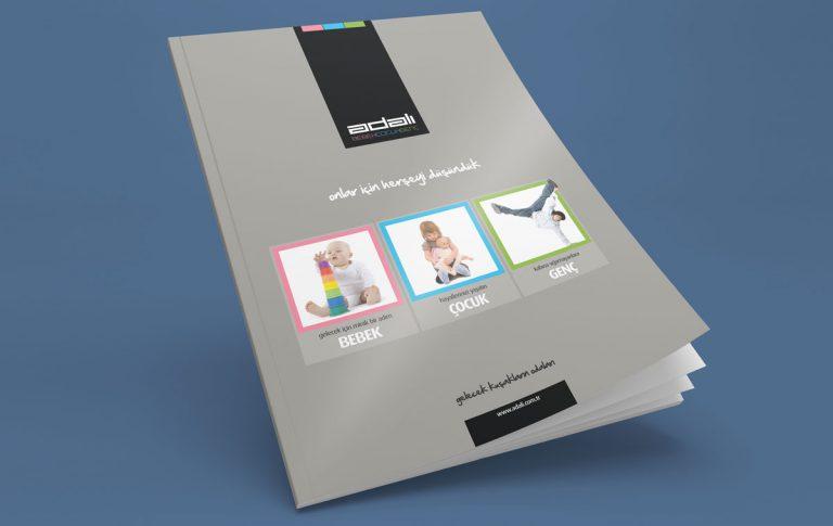 Adalı Katalog Tasarımı