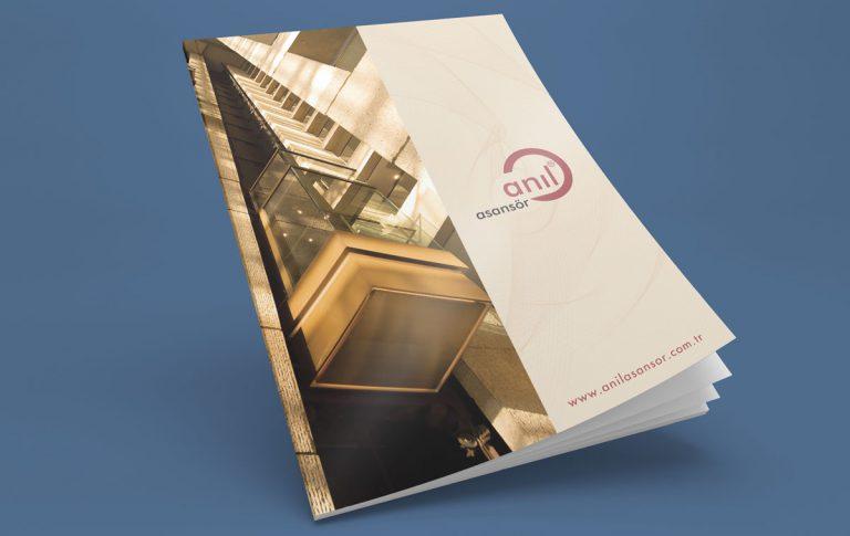 Anıl Asansör Katalog Tasarımı