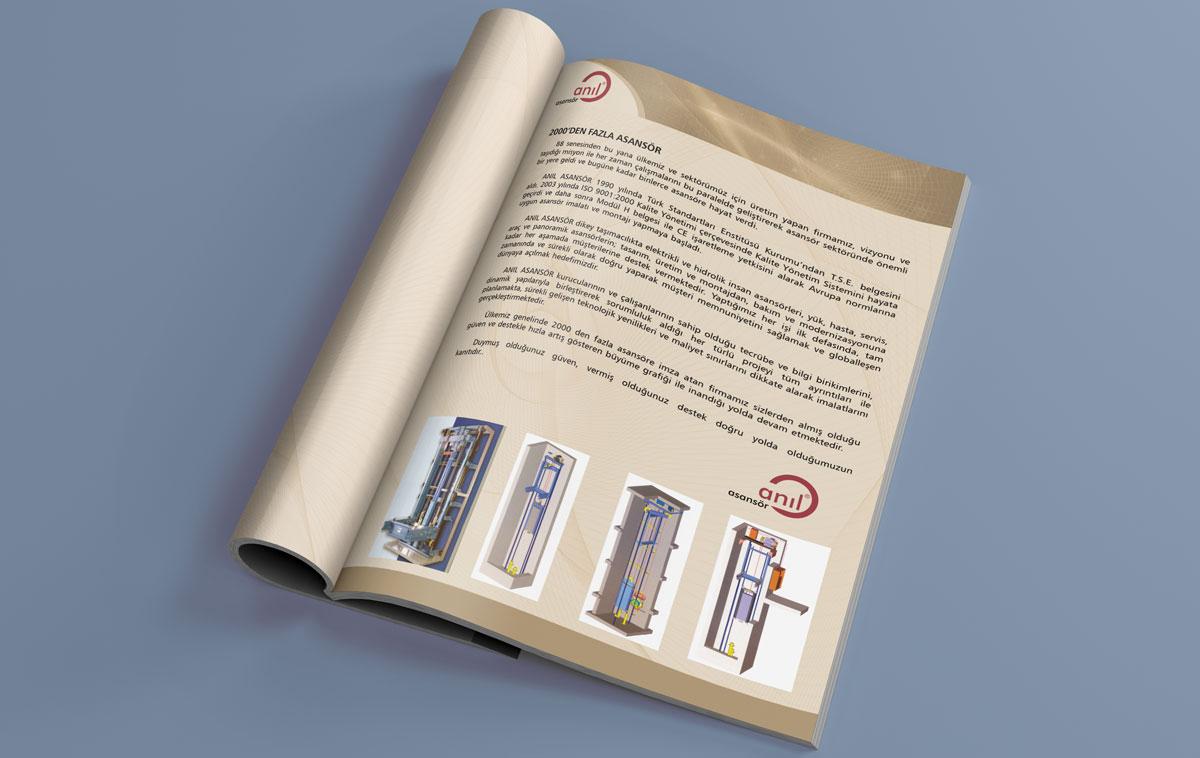 Ankara Katalog Tasarım Örneği