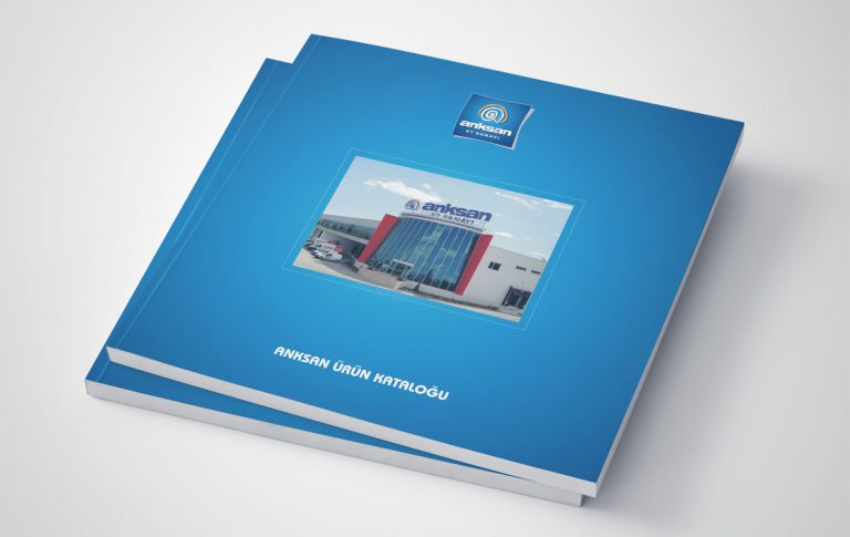 Anksan Katalog Tasarımı