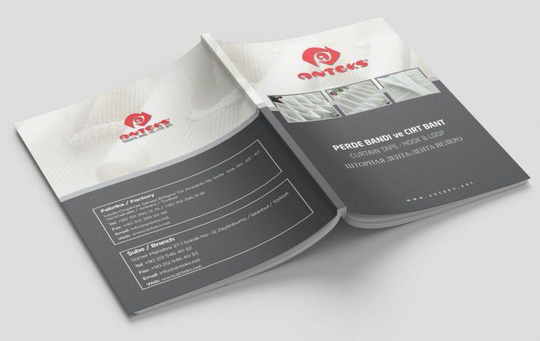 Anteks Katalog Tasarımı