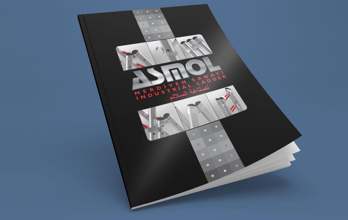 Asmol Ankara Katalog Tasarım Örneği