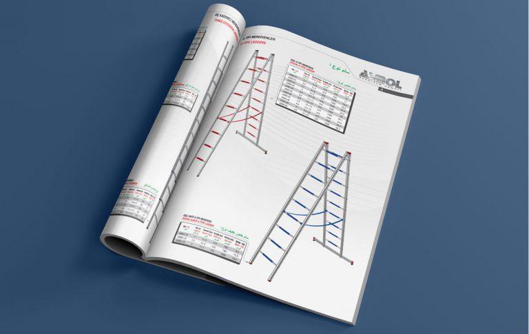 Asmol Katalog Tasarımı