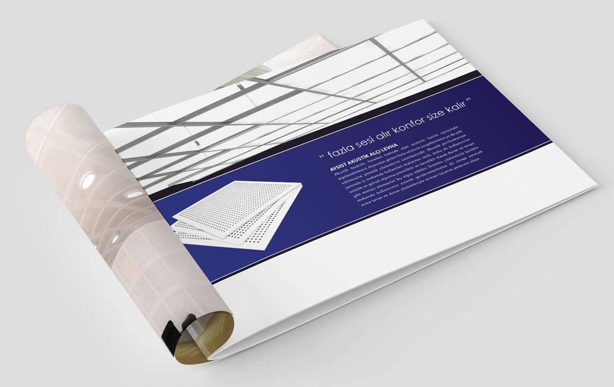 Aypan Katalog Tasarım Örneği