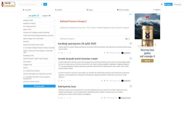 Bunekalabalik.com Web Tasarımı