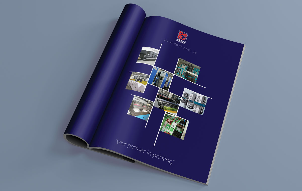 Ankara Dodi Katalog Tasarımı Örneği