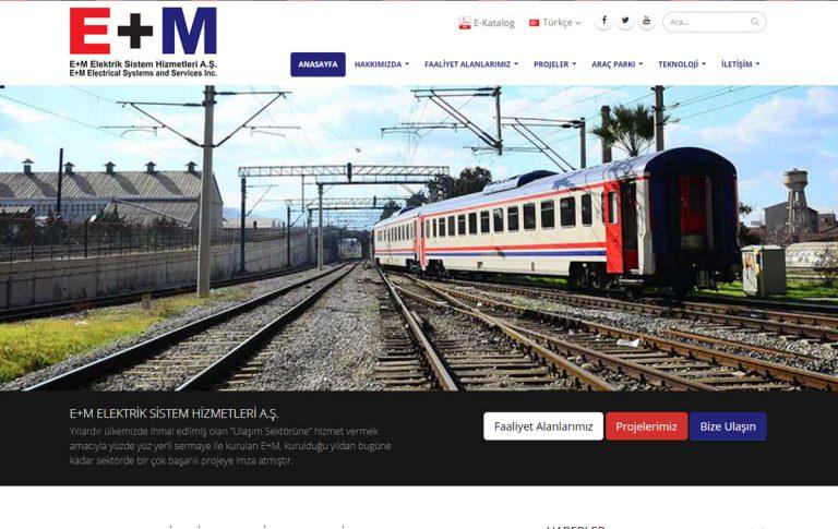 EM Elektrik Sistem Hizmetleri Kurumsal Web Tasarım