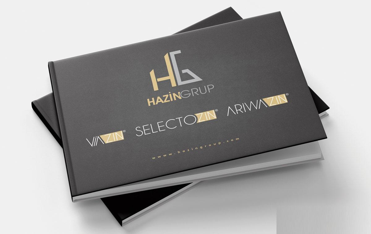 Hazin Group Katalog Tasarımı