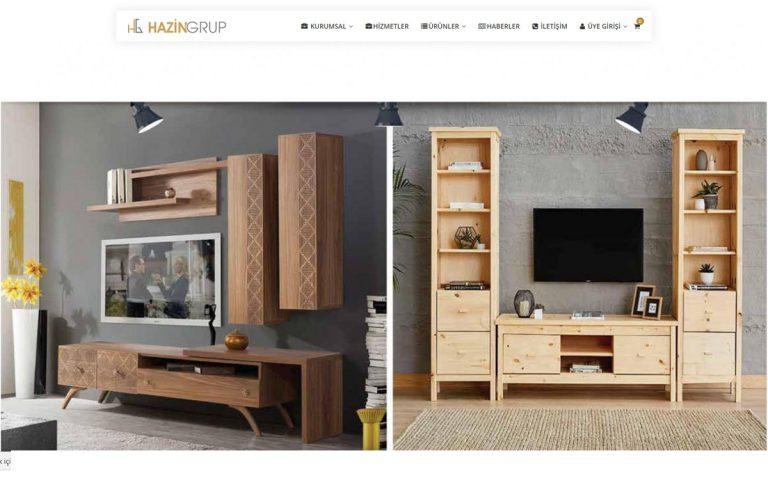 Hazingroup Mobilya Kurumsal Web Tasarımı